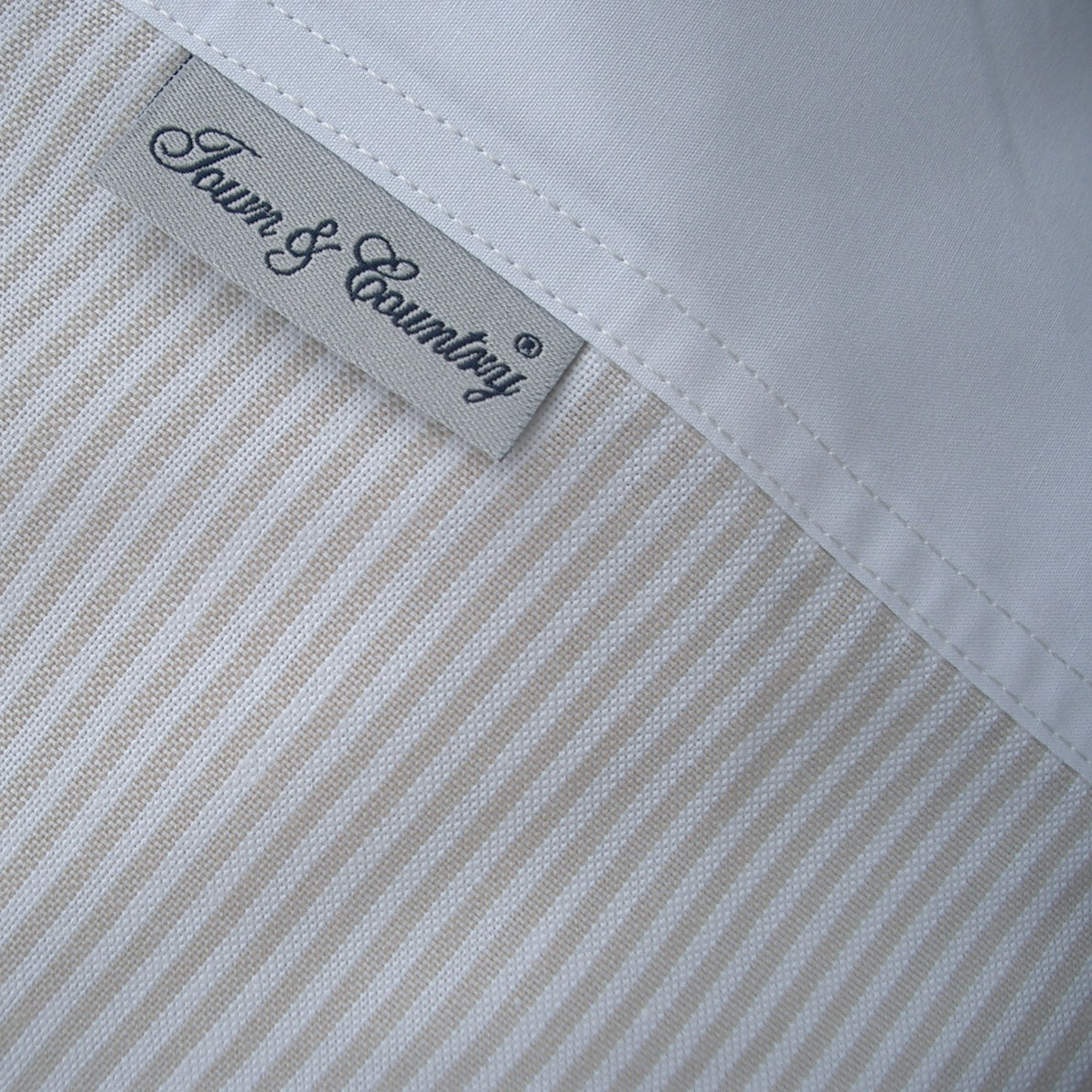 Oxford stripe beige (2)